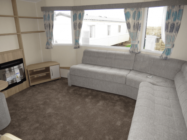 2019 Willerby Rio Gold 35ft x 12ft - 2 bed Static Caravan at Castle Cove Caravan Park in North Wales - lounge 1