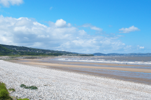 Pensarn Beach at Castle Cove Caravan Park, Abergele North Wales