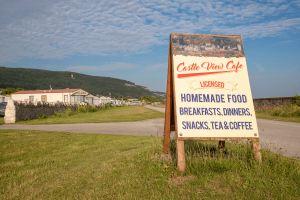 Castle Vie Cafe At Castle Cove Caravan Park, Abergele, North Wales