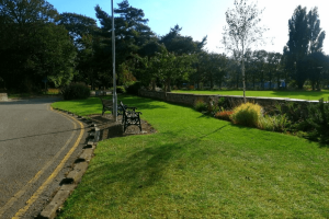 Gardens at Pentre Mawr Park, Abergele, Nr Castle Cove Caravan Park