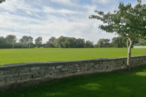 Rugby Field at Pentre Mawr Park, Abergele, Nr Castle Cove Caravan Park