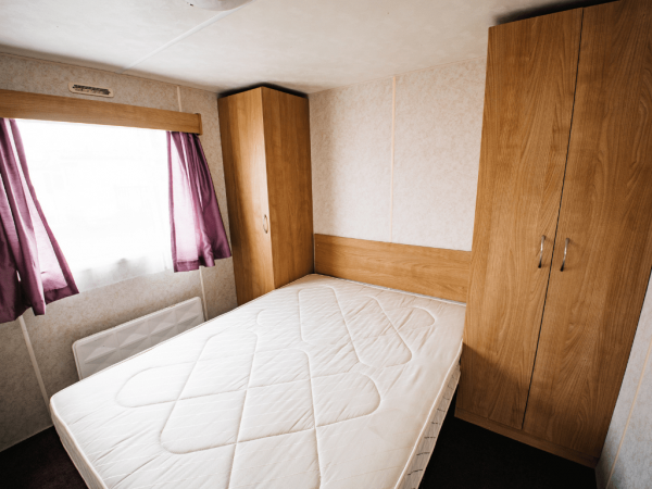 2011 Delta Santana 28ft x 12ft - 2 bed for sale at Castle Cove Caravan Park in Abergele North Wales - Master Bedroom