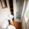 2011 Delta Santana 28ft x 12ft - 2 bed for sale at Castle Cove Caravan Park in Abergele North Wales - Family Shower Room