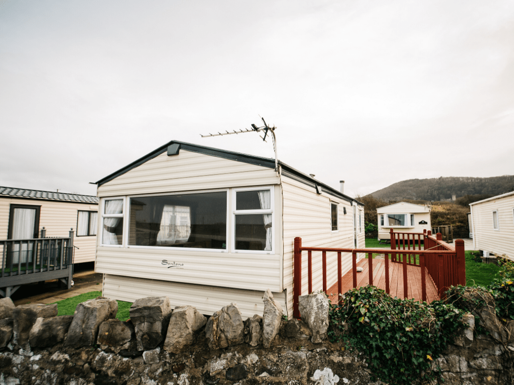 2011 Delta Santana 28ft x 12ft - 2 bed for sale at Castle Cove Caravan Park in Abergele North Wales - Exterior