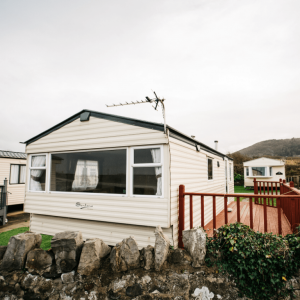 2011 Delta Santana 28ft x 12ft - 2 bed for sale at Castle Cove Caravan Park in Abergele North Wales - Exterior