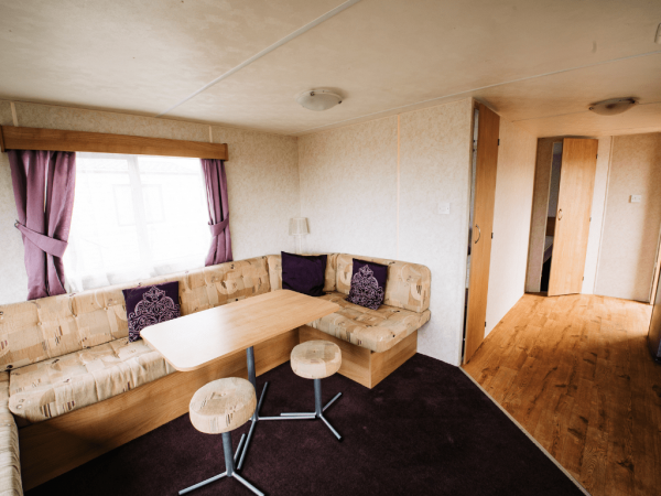 2011 Delta Santana 28ft x 12ft - 2 bed for sale at Castle Cove Caravan Park in Abergele North Wales - Dining area