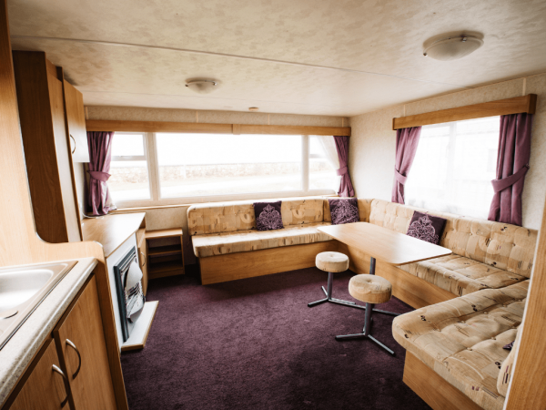 2011 Delta Santana 28ft x 12ft - 2 bed for sale at Castle Cove Caravan Park in Abergele North Wales - Living Area