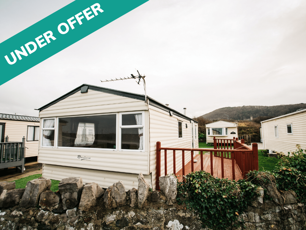 Under Offer - 2011 Delta Santana 28ft x 12ft - 2 bed for sale at Castle Cove Caravan Park in Abergele North Wales - Exterior